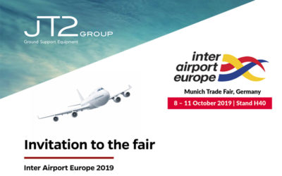JT2 Group exhibits at Inter Airport Europe 2019.
